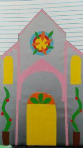 La simmetria nella facciata della cattedrale romanica